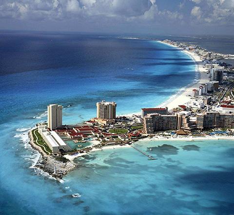 Meksyk i Wyspy Karaibskie